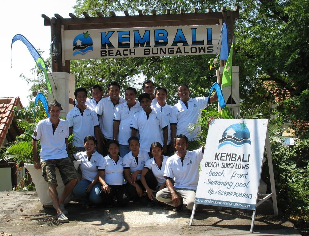 Kembali Beach Bungalows Staff
